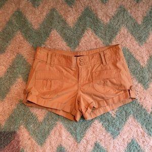 Pants - Tan cargo shorts